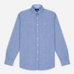 Мужская рубашка Hackett Plain Oxford Blue фото- 0