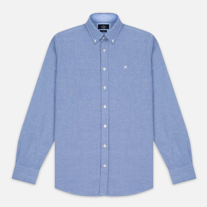 Мужская рубашка Hackett Plain Oxford Blue