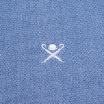 Мужская рубашка Hackett Plain Oxford Blue фото- 2