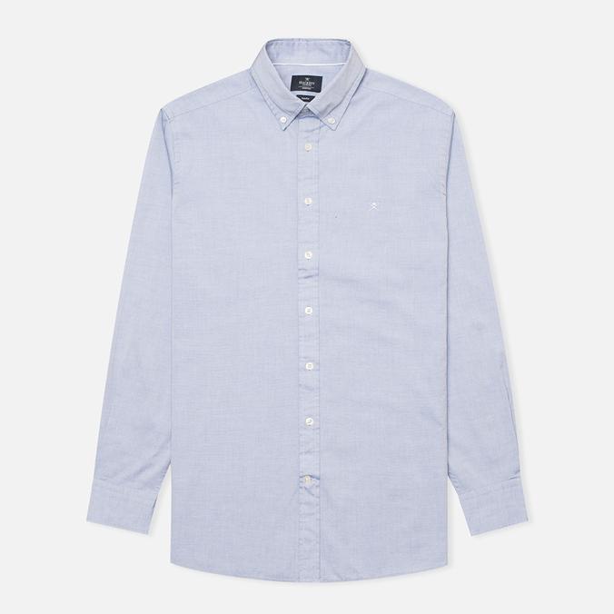 Мужская рубашка Hackett Plain Oxford Indigo