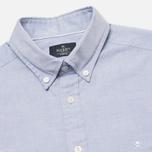 Мужская рубашка Hackett Plain Oxford Indigo фото- 1