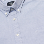 Мужская рубашка Hackett Plain Oxford Indigo фото- 2