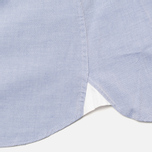 Мужская рубашка Hackett Plain Oxford Indigo фото- 4