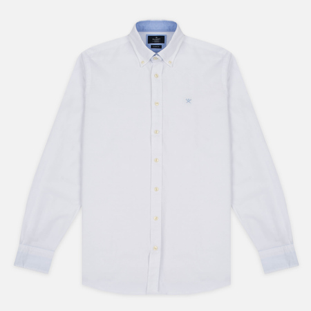 Hackett Plain Oxford Men's Shirt White
