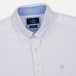 Мужская рубашка Hackett Plain Oxford White фото- 1