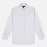 Мужская рубашка Hackett Sport Blue Placed Blue/White фото- 0