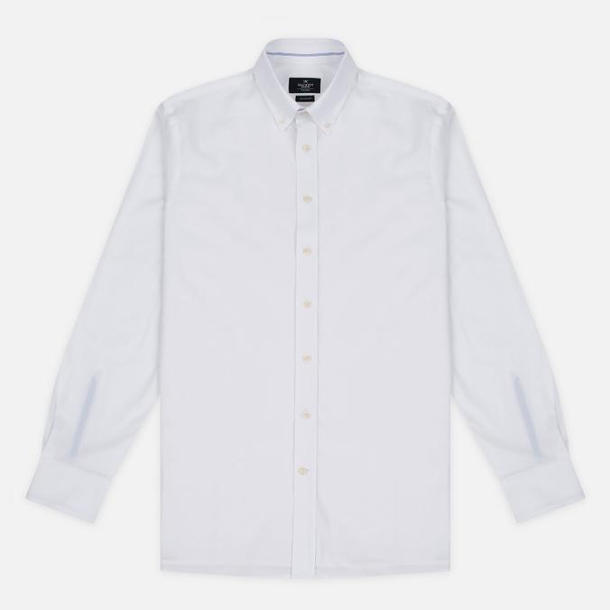 Мужская рубашка Hackett Sport Blue Placed Blue/White