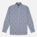 Мужская рубашка Hackett Springer Check Blue/Brown фото- 0