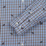 Мужская рубашка Hackett Springer Check Blue/Brown фото- 2