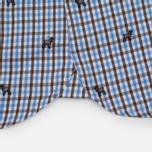 Мужская рубашка Hackett Springer Check Blue/Brown фото- 3