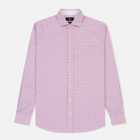 Мужская рубашка Hackett Textured Gingham Pink/Multi