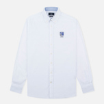 Мужская рубашка Hackett White Chest Embroidered White фото- 0