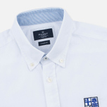 Мужская рубашка Hackett White Chest Embroidered White фото- 1
