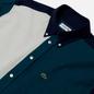 Мужская рубашка Lacoste Colourblock Cotton Navy Blue/Green/White фото - 1