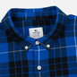 Мужская рубашка Lacoste Live Boxy Fit Check Flannel Blue/White фото - 1