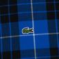 Мужская рубашка Lacoste Live Boxy Fit Check Flannel Blue/White фото - 2