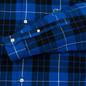Мужская рубашка Lacoste Live Boxy Fit Check Flannel Blue/White фото - 3