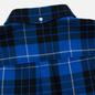 Мужская рубашка Lacoste Live Boxy Fit Check Flannel Blue/White фото - 4