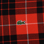 Мужская рубашка Lacoste Live Boxy Fit Check Flannel Red/White фото - 2
