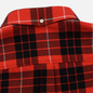 Мужская рубашка Lacoste Live Boxy Fit Check Flannel Red/White фото - 4
