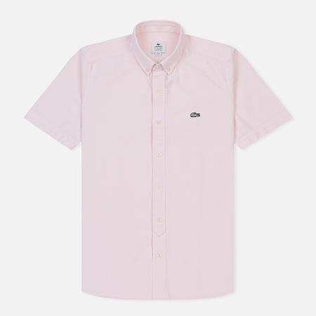 Мужская рубашка Lacoste Live Oxford Cotton Slim Fit Light Pink/White