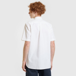 Мужская рубашка Lacoste Live Oxford Cotton Slim Fit White/White фото- 2