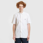 Мужская рубашка Lacoste Live Oxford Cotton Slim Fit White/White фото- 1