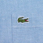 Мужская рубашка Lacoste Oxford Regular Fit Woven Blue фото- 5