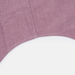 Lacoste Oxford Regular Fit Woven Men's Shirt Wine/White photo- 3