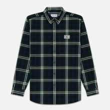 Мужская рубашка Lacoste Regular Fit Check Flannel Green/Beige фото- 0