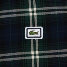 Мужская рубашка Lacoste Regular Fit Check Flannel Green/Beige фото- 2