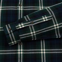 Мужская рубашка Lacoste Regular Fit Check Flannel Green/Beige фото- 3