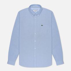 Мужская рубашка Lacoste Regular Fit Cotton Oxford Hemisphere Blue