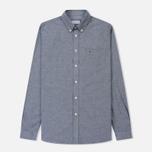 Мужская рубашка Lacoste Regular Fit Cotton Oxford Navy Blue фото- 0
