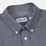 Мужская рубашка Lacoste Regular Fit Cotton Oxford Navy Blue фото- 1
