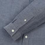 Мужская рубашка Lacoste Regular Fit Cotton Oxford Navy Blue фото- 3