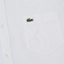 Мужская рубашка Lacoste Regular Fit Cotton Oxford White фото- 2