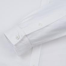 Мужская рубашка Lacoste Regular Fit Cotton Oxford White фото- 3