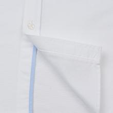 Мужская рубашка Lacoste Regular Fit Cotton Oxford White фото- 4