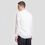 Мужская рубашка Lacoste Regular Fit Linen White фото- 2
