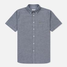 Мужская рубашка Lacoste Regular Fit Oxford Cotton Marine фото- 0