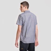 Мужская рубашка Lacoste Regular Fit Oxford Cotton Marine фото- 2