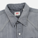Мужская рубашка Levi's Barstow Western Grey Medium фото- 1