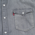 Мужская рубашка Levi's Barstow Western Grey Medium фото- 2