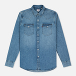 Levi's Barstow Western Red Cast Men's Shirt Stone photo- 0