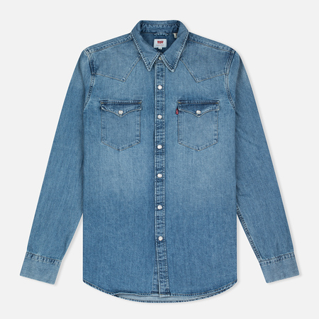 Levi's Barstow Western Red Cast Men's Shirt Stone