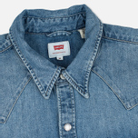 Levi's Barstow Western Red Cast Men's Shirt Stone photo- 1