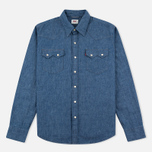 Мужская рубашка Levi's Sawtooth Western Indigo Selvedge фото- 0