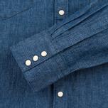 Levi's Sawtooth Western Men's Shirt Indigo Selvedge photo- 3