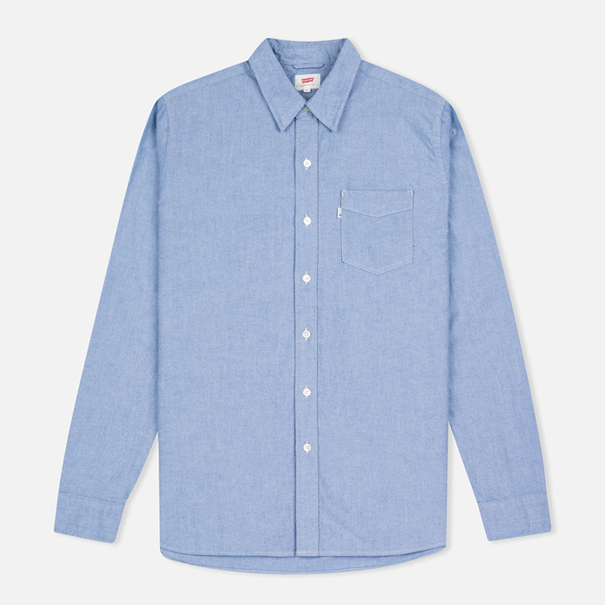 Мужская рубашка Levi's Sunset One Pocket True Blue Oxford